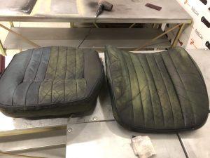 Patina jaguar etype seat