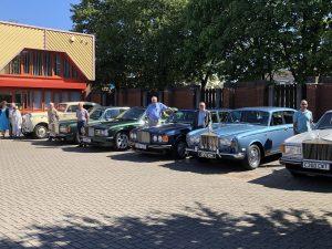Rolls Royce line up