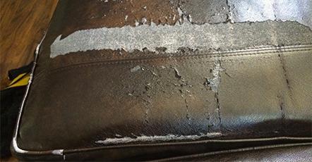 Bonded Leather Cushion