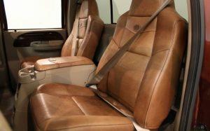 Buffalo Leather Car Seats
