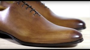 Crust Leather Shoes