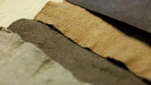 Piñatex synthetic leather hides