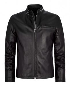 Leather Jacket Made From Nappa