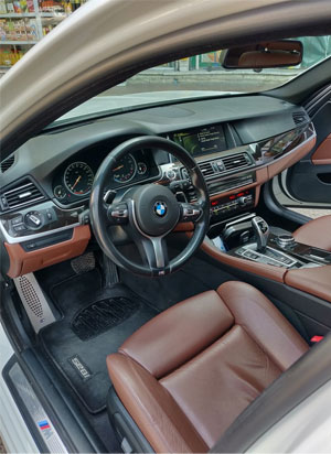 BMW Car Leather