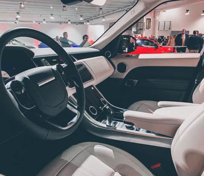 Range Rover Car Leather