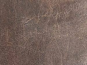 Bi Cast leather Close Up Showing Cracking