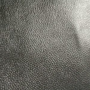 Black Split Leather With A Coating