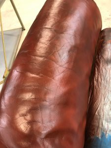 Tow Tone Leather Finish Completed