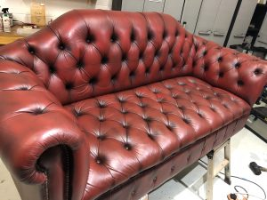 Chesterfield Sofa Fully Restored