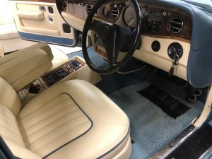 Connolly Hide Rolls Royce Front Seats