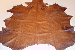 Full Emu Leather Hide