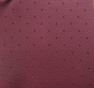 Irregular Perforated Leather