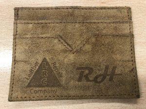 Lasered Credit Card Holder