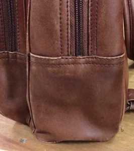 Leather Handbag Water Damage Removed