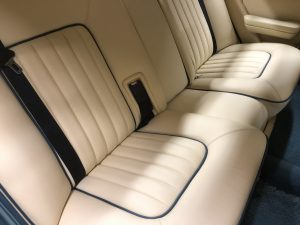 Rolls Royce Rear Seats Connolly Leather