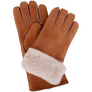 Sheepskin Ladies Gloves