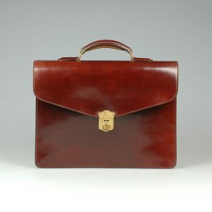 Shell Cordovan Horse Leather Hide Case