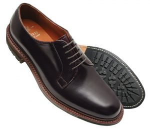 Shell Cordovan Horse Leather Hide Shoes