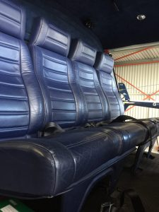 Aircraft Leather Rear Seats