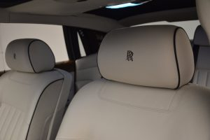Embroidery Rolls Royce Seats