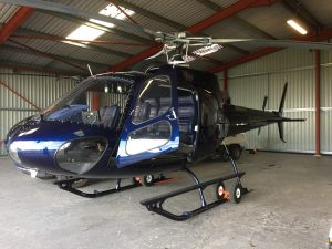 Helicopter Aircraft Leather