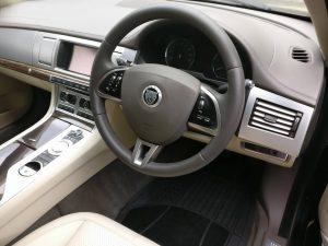 Jaguar Steering Wheel Restored