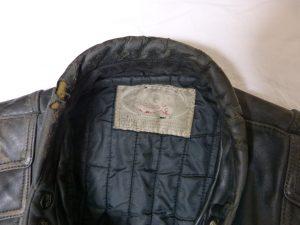 Leather Jacket Collar Worn