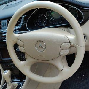 Mercedes Steering Wheel Restored