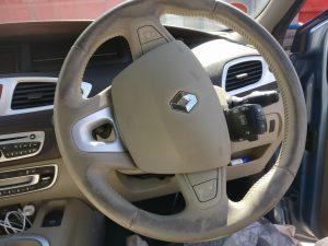Renault Leather Steering Wheel Worn
