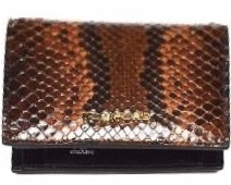 Snakeskin Leather Wallet