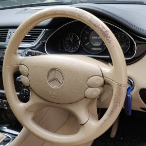 Steering Wheel Colour Loss
