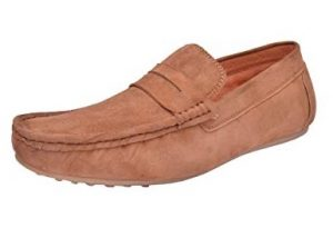 Suede Camel Leather Shoes