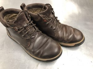 Walking Boots Worn In