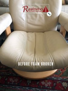 Ekornes Chair Foam Broken